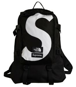 Supreme The North Face S Logo Expedition Backpack Black Deadstock New