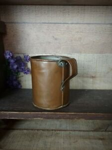 Early Antique Copper Mug Tankard with Handle