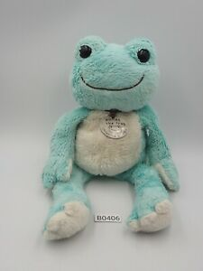 "Pickles The Frog Blue Mint B0406 Nakajima 1994 JUNK 10"" Plush Toy Doll Japan"