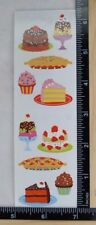 Mrs Grossman JUST DESSERTS Reflections Stickers SPARKLE CAKES PIE ICE CREAM
