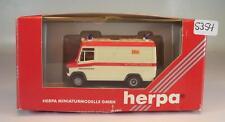 Herpa 1/87 041867 Mercedes Benz 609 D RTW ASB Workers's Samaritan Federation OVP #5354