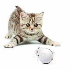 Interactive Cat Toy 360 Degree Self Rotating Ball For Kitty Spinning Led Light