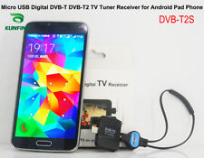 Micro USB Digital DVB-T DVB-T2 TV Tuner Receiver for Android Phone and Pad