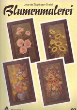 Blumenmalerei Zipplinger-Gratzl Wandbilder Vorlagenmappe