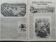 L' ILLUSTRATION 1852 N 503 LA FACULTE DE MEDECINE DE MONTPELLIER ( hérault)