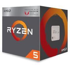 AMD Processore Ryzen 5 2400G Quad Core 3.6 GHz Socket AM4 Boxato con Scheda Graf