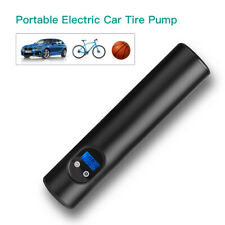 Portable Mini Car Tire Air Pump Compressor Inflator 6000mAh Black For Bike Auto