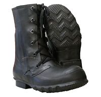 Original Genuine US Army Mlitary Combat Insulated Rubber Mickey Mouse Boots