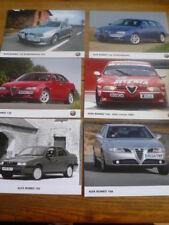 ALFA ROMEO ORIGINAL PRESS PHOTOS X 12 - A MIXED GROUP