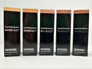 Bare Minerals Bareskin Pure Brightening Serum Foundation 1oz SPF 20 Choose Color