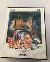 SNK NEO GEO AES Art of Fighting 2 RYUKO no KEN 2 Japan Ver Limited Free Shipping
