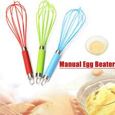 Manual Egg Beater Kitchen Cream Stirring Whisk Baking Mixer Blender l