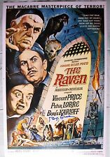 ROGER CORMAN SIGNED 11x17 PHOTO DC/COA (THE RAVEN) RARE