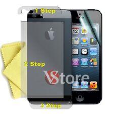 """6 Pellicola Per iPhone 5 5G Fronte Retro 3 Step Proteggi Schermo Display LCD 4"""""""