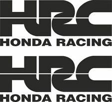 2 HRC HONDA Decals Stickers Colours Motorbike Race Racing Bike Moto GP Printed