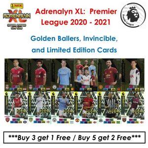 Panini Adrenalyn XL - Premier League 2020 - 21: Golden Ballers & Limited Edition