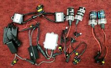1 Lot of H1 Bb Hid Headlight Conversion Kits 6000K, extra Lights and Parts