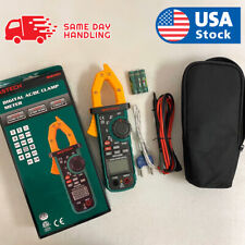 Mastech Ms2109a Digital Acdc Clamp Meter Frequency Capacitance Amp Ncv Tester