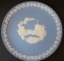 Wedgwood 1969 Christmas Plate Jasperware : Windsor Castle