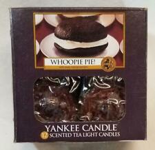 Yankee Candle WHOOPIE PIE Box of 12 Scented Tealights Tea Light Brown