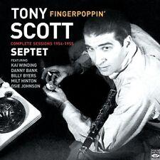 Tony Scott Septet FINGERPOPPIN COMPLETE RECORDINGS 1954-1955