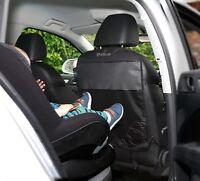 Venture Car Seat Protector High Quality Kick Mats, 3 Mesh Pockets, 2 Pack-Black