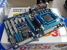 Gigabyte GA-770T-D3L AMD 770 Socket AM3 ATX Motherboard