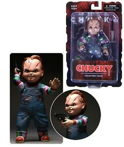 Child's Play Bride CHUCKY Good Guy Scars 5-inch Action Figure w/ Knife & Gun