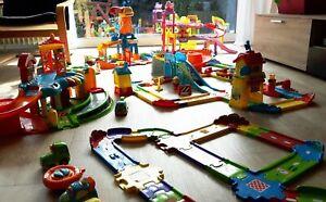 Tut Tut Flitzer Sammlung Parkhaus Garage Eisenbahn Straßen Autos