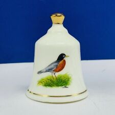 Danbury Mint state bird Bell porcelain collection Connecticut Robin fine china