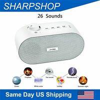 White Noise Sound Machine Sound Therapy Rain Fan Sound for Baby Sleep 26 Sounds