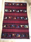 Vintage Handmade Turkish Kilim Kelim Rug 3 3 x4 9  Oushak  Carpet  Rustic  Wool