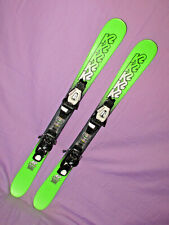 K2 JUVY kid's JR skis 109cm with Rocker with Salomon 5 DEMO youth ski bindings ~