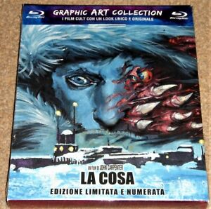 THE THING GRAPHIC ART COLLECTION BLU RAY / REGION FREE / WORLDWIDE SHIPPING