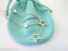 STUNNING Tiffany & Co Star Link Lariat Silver Necklace - LIMITED EDITION