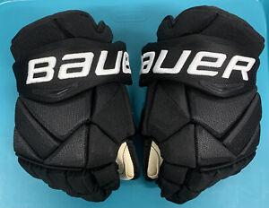 "Pro Stock Bauer 1x Hockey Gloves 13"" Avalanche Soderberg"