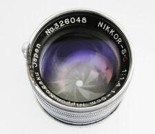 Nikkor 5cm f1.4 Leica SM  #326048