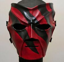 WWE Leather Kane Wrestling Mask Replica Wwf Custom *Made to Order*