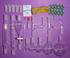 lab glassware kit,24/40,primary Organic chemistry glassware kit ,lab glassware
