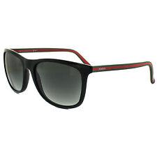 Gucci Herren Sonnenbrille GG0107S 003, Grau (Ruthenium/Silver), 56