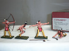 FIGARTI JU4101 US WILD WEST AMERICAN INDIAN WEAPONS FOR HUNT OF WAR FIGURE SET