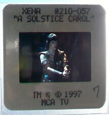 35mm color slide A Solstice Carol XENA WARRIOR PRINCESS Lucy Lawless Renee O'C