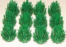 LEGO LOT OF 12 GREEN PRICKLY BUSH PANTS TREE GARDEN TOWN CITY PIECES