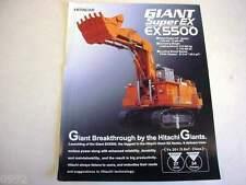 Hitachi Super Ex5500 Excavator Literature b2