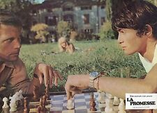 JACQUELINE BISSET  MARC POREL   LA PROMESSE 1969 VINTAGE PHOTO LOBBY CARD N°5
