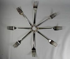 International Silver Eternally Yours Silverplate Set of 8 Individual Salad Forks