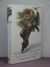 1st, signed by the author, Queen of the Amazons by Judith Tarr (2004)