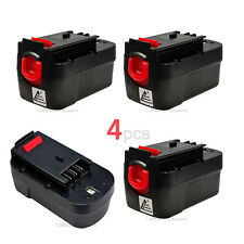 4 x 18V 1500mAh Slide Battery for Black & Decker FSX180BX FS18BX FS18FL FSB18