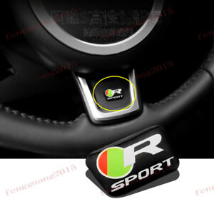 For Jaguar F-PACE XE XF 2016-2017 ABS Steering wheel decoration stickers 1pcs
