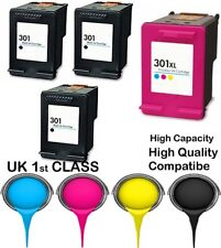 4 Compatible Ink Cartridge For HP 301 Envy 4500 4502 4504 4505 4507
